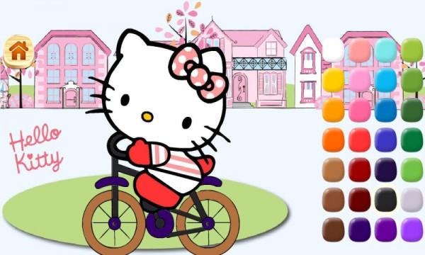 凯蒂猫趣味填充软件截图2