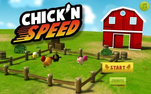 小鸡赛跑软件截图0
