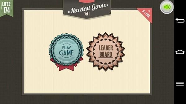 世上最难游戏(The Worlds Hardest Game)软件截图0