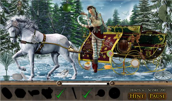 隐藏的物品魔幻圣诞软件截图2