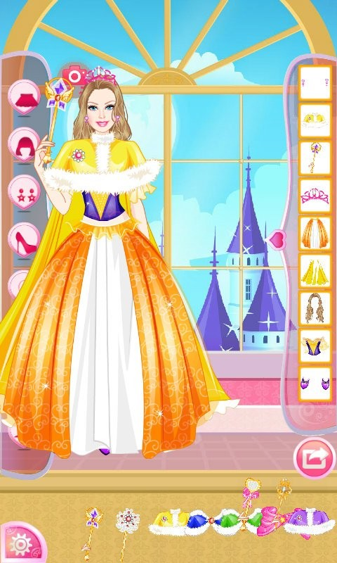 公主宝贝钻石装扮软件截图2