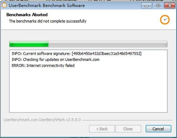 电脑性能测试UserBenchmark