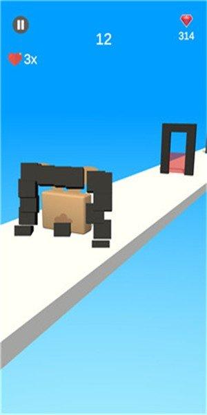动物果冻变形3D