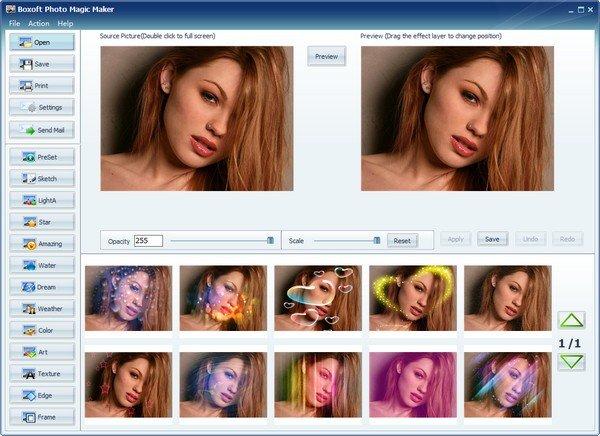 Boxoft Photo Magic Maker(照片编辑软件)