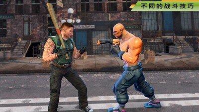 街头搏击自由格斗