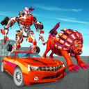 终极狮子机器人变形