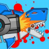 机器鲨鱼双重进攻