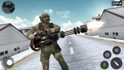 生存战场的自由射击生存小队软件截图2