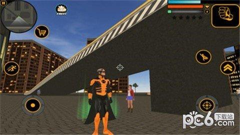 超人侠盗英雄3D软件截图2
