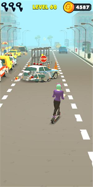 滑板车骑行