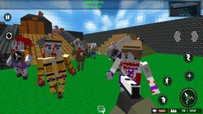 战斗方块竞技场软件截图2