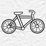 纸上自行车