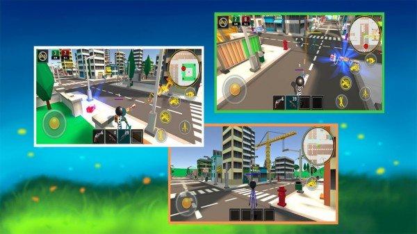 火柴人城市激斗软件截图3