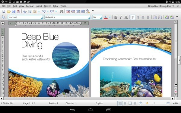 TextMaker HD软件截图0