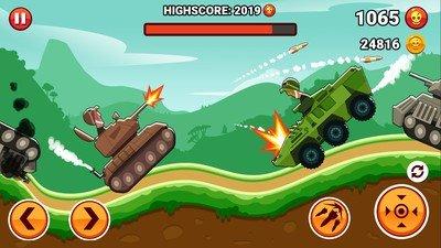 山丘坦克战中文版软件截图1