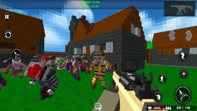 战斗方块竞技场软件截图1