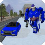 冬季变形机器人