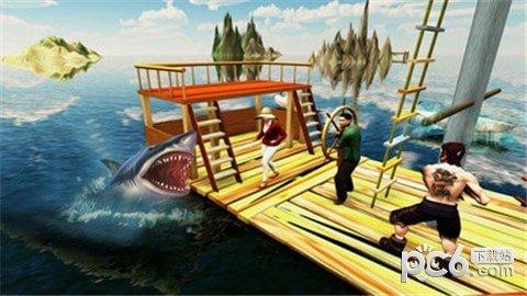 木筏求生鲸鲨猎人软件截图1