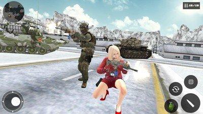 生存战场的自由射击生存小队软件截图1