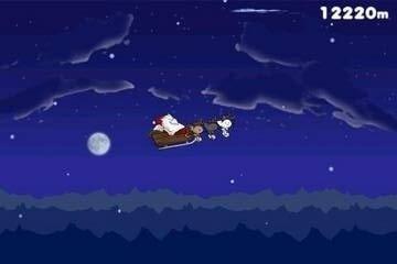 飞天圣诞猫