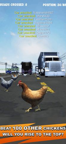 沙雕鸡过马路