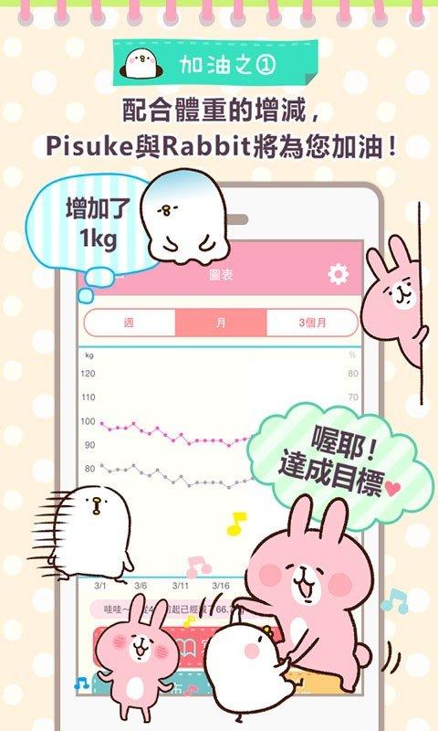 瘦身体重控制软件截图2
