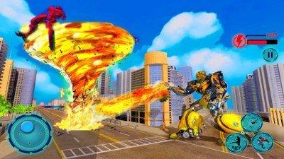 超级龙卷风机器人英雄软件截图1