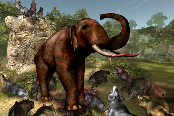 灰狼模拟器3D