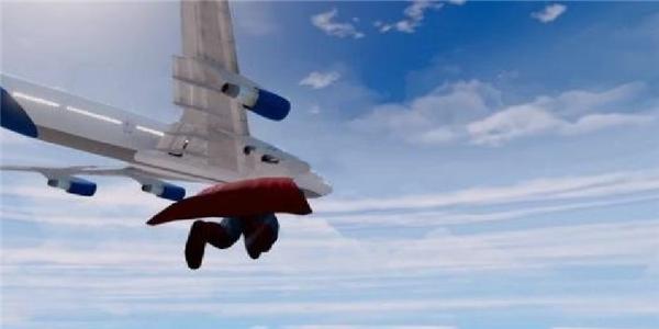 模拟飞天超人英雄