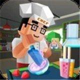 冰淇淋制造厨师