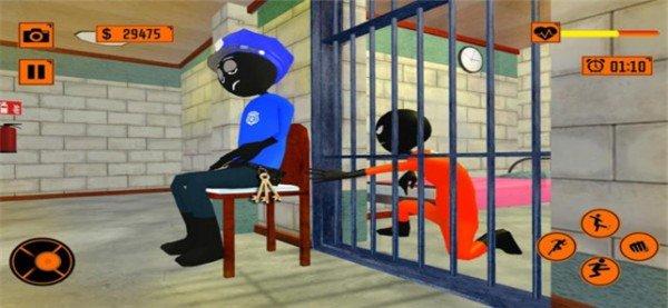 火柴人逃脱越狱软件截图2