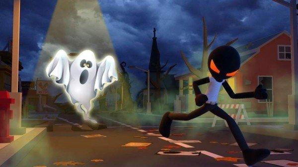 火柴人逃离幽灵城镇3D