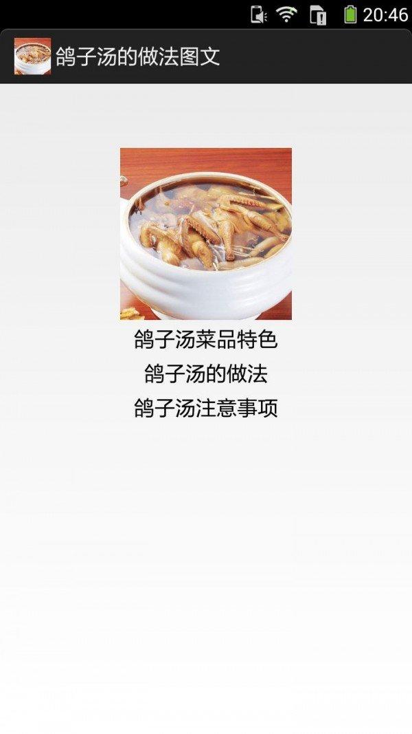 鸽子汤的做法图文