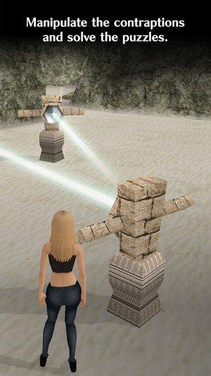 少女孤岛逃脱软件截图1