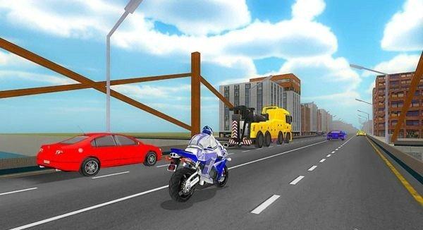 VR公路摩托车竞速软件截图2