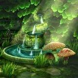 神秘花园动态壁纸(Celtic Garden HD)软件截图0