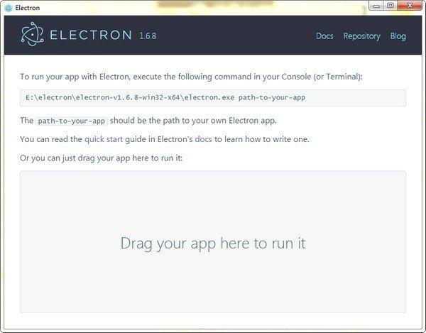 electron(跨平台桌面应用开发工具)