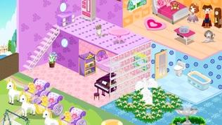 公主娃娃屋房間設計软件截图0