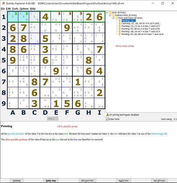 Sudoku Explainer(数独解释器)下载