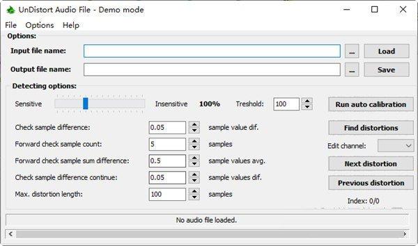 UnDistort Audio File(音频文件修复工具)