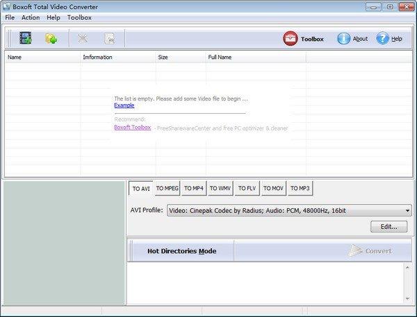 Boxoft Total Video Converter(AVI转换器)下载
