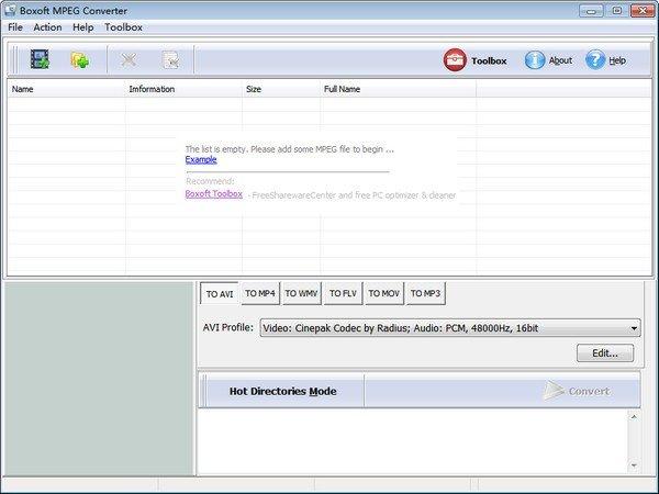 Boxoft MPEG Converter(视频转换工具)下载