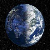 世界卫星地图