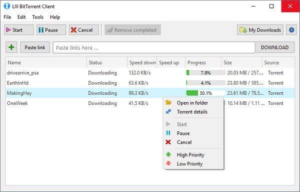 LIII BitTorrent Client(开源文件下载器)下载