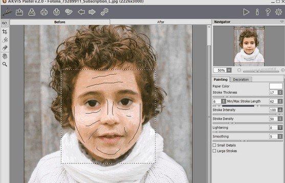 AKVIS Pastel(图像转粉彩蜡笔画软件)下载