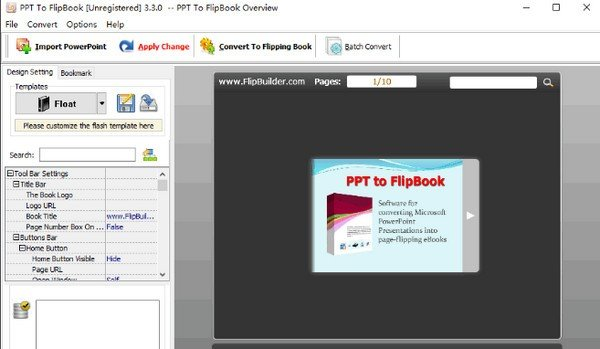 PPT to FlipBook(PPT翻转书页软件)下载