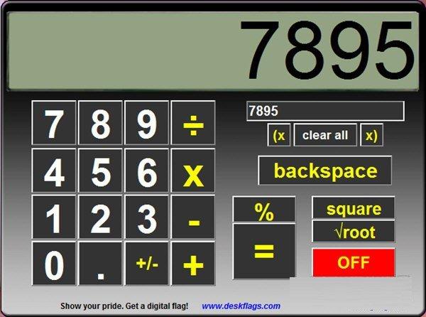 Big Calculator(大型界面计算器)下载