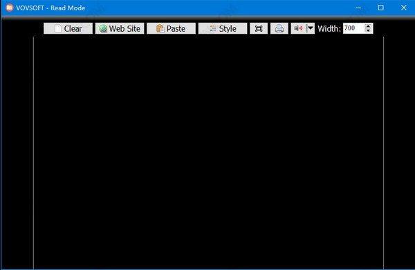 VovSoft Read Mode(文本阅读工具)