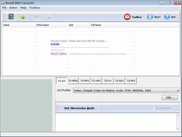 Boxoft MKV Converter(MKV视频转换工具)下载