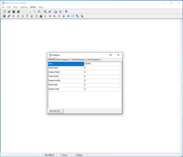 NonTube Text Master(文本文字处理软件)下载